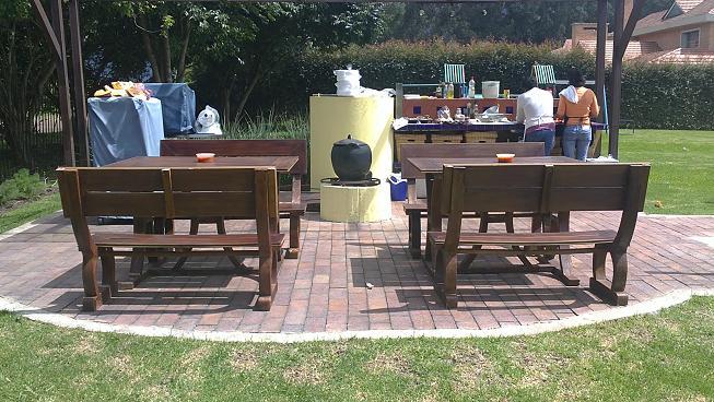 3 0 muebles campestres pl sticos para exteriores o for Muebles para casas campestres